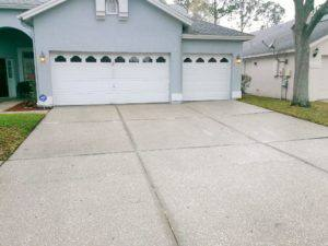driveway cleaning, Holiday Fl , after