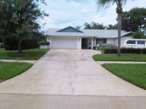 driveway pressure cleaning in tarpon springs, after