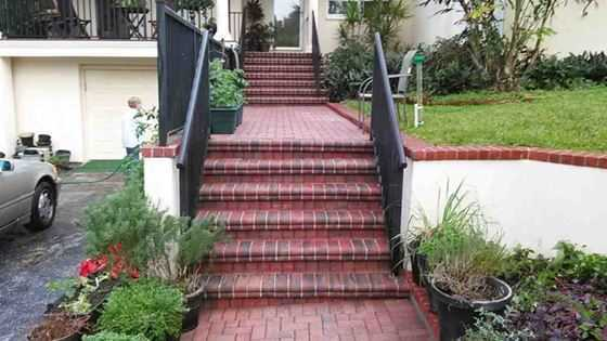 clean-brick-steps