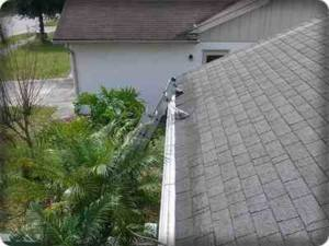 pressure washing safety harbor-gutter icon